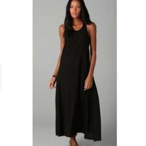 Mikoh French Riviera Long Cotton Dress Scoop Sides